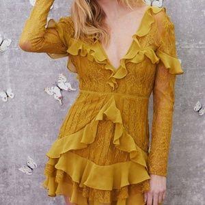 FLL Daphne Lace Mini Dress
